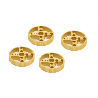 MakeBlock - Timing Pulley 62T-Gold (4-Pack)