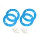 MakeBlock - Sastavnica za koloturu razvodnog remena 62T B - Plava (4-Kom)