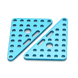 Makeblock - Triangle Plate 6x8-Blue(Pair)