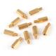 Makeblock - Brass Stud M4*12+6 (10-Pack)