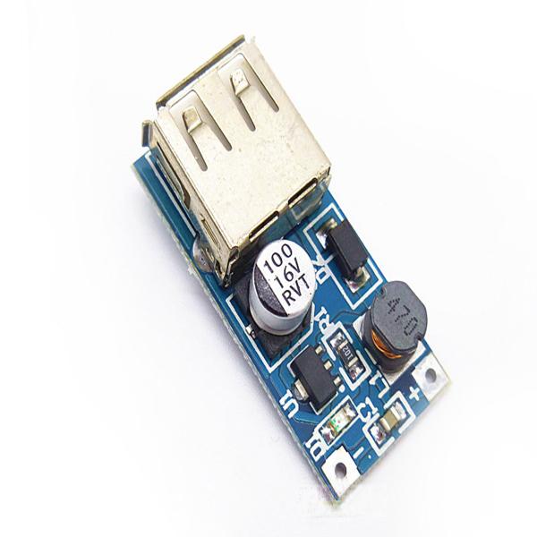 2Pcs Dc-Dc Usb 0.9V-5V To 5Vdc Boost Step-Up Power Supply Module Mini Pfm qi