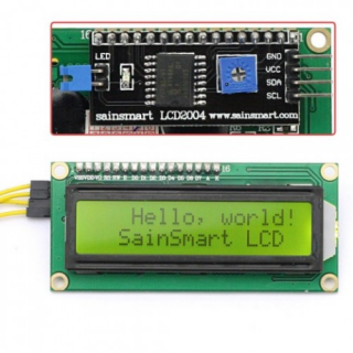 SainSmart IIC/I2C/TWI 1602 Serial LCD Module Display For Arduino MEGA2560 UNO R3