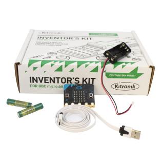 Inventor's Kit for BBC micro:bit v2 (BBC micro:bit included)