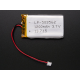 Lithium Ion Polymer Battery 3.7V - 1200mAh - 2-pin JST connector