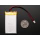 Litij-Ionska polimerna baterija 3.7V - 1200mAh - 2 pin - JST konektor