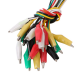 10 Pcs Colorful Insulating Alligator Clip Test Lead Cable 50CM Length