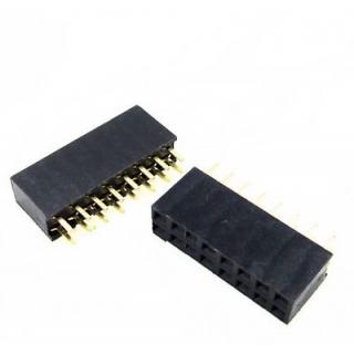 Female Header 2x8 pin (16-pin) - Straight