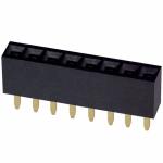Ženski Header 1x8 pin - ravni - 2.54mm