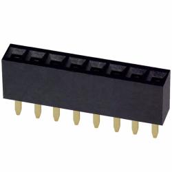 Female Header 1x8 pin - 2.54mm - Straight