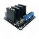 5V 4 Channel SSR Solid-State Relay Low Level Trigger With fuse Stable 240V 2A