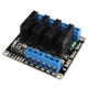 Solid State Relay Module Board - 4-channel - 240V 2A