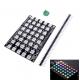 LED matrix driver board - 8x5 - WS2812 - 5050 RGB - Full color