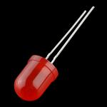 Difuzna LED dioda - Crvena 10mm