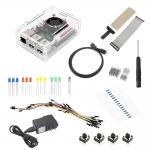 Raspberry Pi 2 Model B Starter Kit 1 ABS Plastic Case SD Card Wifi Breadboard HDMI GPIO