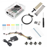 Raspberry Pi 2 Model B Starter Kit 1 ABS Plastic Case SD Card Wifi Breadboard HDMI GPIO