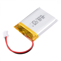 Lithium Ion Polymer Battery 3.7V - 900mAh - 2-pin JST connector