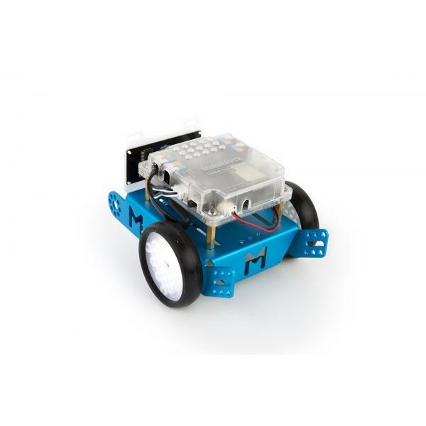mBot v1 1 Explorer Kit - STEM Educational Robot Kit for Kids - Bluetooth -  Blue