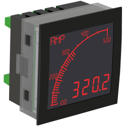 Trumeter APM-AMP-ANO Ammeter NEG-LCD with Outputs