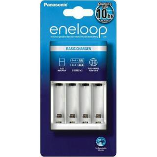 Battery charger Panasonic Eneloop Basic BQCC51E, 4 slots for charging AA i AAA, no battery