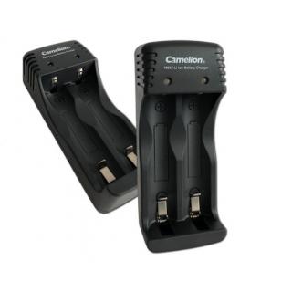 Battery charger Li-ion, for 2 pcs batterys,USB, Camelion