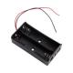 Battery holder 2x18650 serial