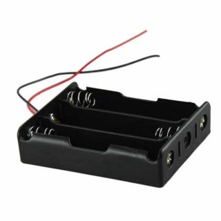 Battery holder 3x18650 serial