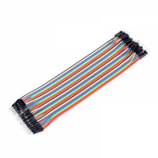 40kom Dupont konekcijskih kabela 10cm 2.55MM Muški - Muški za Arduino