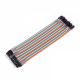 Dupont wire - 10 cm - 2,54 mm - 40 kom - MM