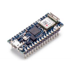 Arduino Nano 33 IoT with headers mounted