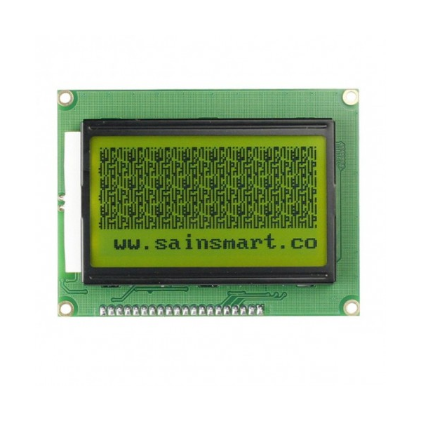 Sainsmart spi graphic yellow lcd display module
