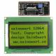 SainSmart SPI 128x64 Graphic Yellow LCD Display Module Backlight For Arduino UNO R3 Duemilanove MEGA2560 MEGA1280 AVR