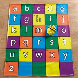Bee-Bot® and Blue-Bot® Alphabet Mat