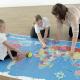 Bee-Bot i Blue-Bot – Karta svijeta 145 x 80 cm