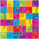 Snakes and Ladders Mat