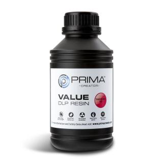 PrimaCreator Value UV / DLP Resin - 1000 ml - Transparent red