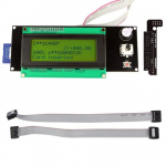 SainSmart 2004 Smart Yellow LCD Controller With Adapter For RepRap Ramps 1.4 3D Printer