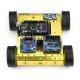 SainSmart Mega 2560 R3 4WD Mobile Car Robot Kit For Arduino