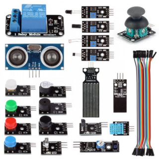 20 in 1 SainSmart Sensor Modules Kit for Arduino ( Work with All Arduino Boards)