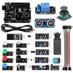 21 in 1 SainSmart UNO R3 Sensor Modules Kit for Arduino