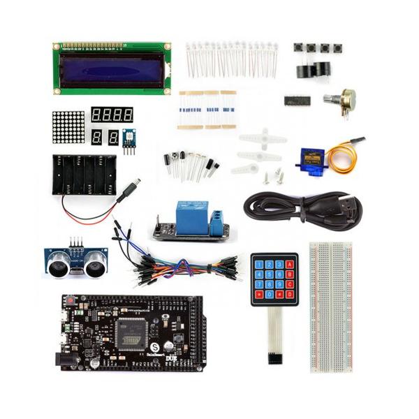 SainSmart DUE+HC-SR04 1602LCD Keypad+Servo Motor Starter kit for Arduino US