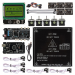 Ultimaker 1.5.7 + A4988 + Mega2560 R3 + LCD12864 3D Printer Controller Kit For RepRap