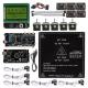 Ultimaker 1.5.7 + A4988 + Mega2560 R3 + LCD12864 3D Printer Controller Kit For RepRap