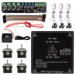 Melzi+NEMA 17 Stepper Motors+MK2B Heatbed 3D Printer Kit For RepRap