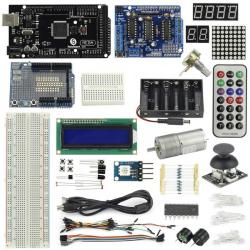 New SainSmart MEGA2560 R3 + Joystick + L293D + Small Motor Experimenter Kit Arduino compatible
