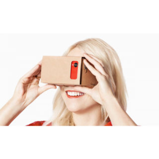 DIY Virtual Reality 3D Glasses Cardboard Box NFC for Google Cardboard