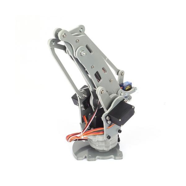 Robotic Palletizing Arms : Diy axis servos control palletizing robot arm model for