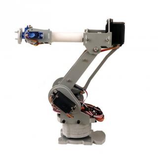 Diy 6 Axis Servos Control Palletizing Robot Arm Model For Arduino Uno Mega2560