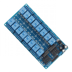 16 Channel 5V Relay Module With Optocoupler LM2576 Power Supply