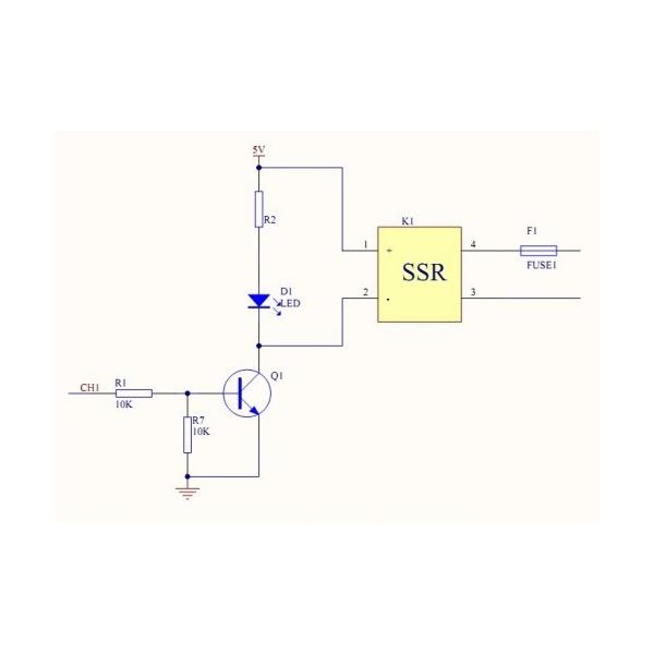 sainsmart 8 channel 5v solid state relay module board omron ssr 4 arduino  raspberry pi