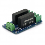 SainSmart 2 Channel SSR-2F Solid State Relay 3V-32V 5A For AVR DSP Arduino Mega Uno R3